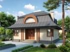 Проект элегантного дома с мансардой